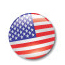 US Flag / Button